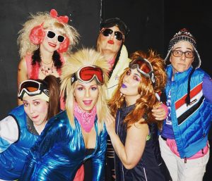 Flock of Seagirls 80s Ski Party 2018